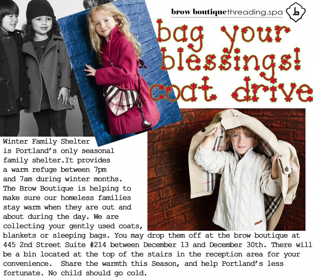 BB's Winter Coat Drive