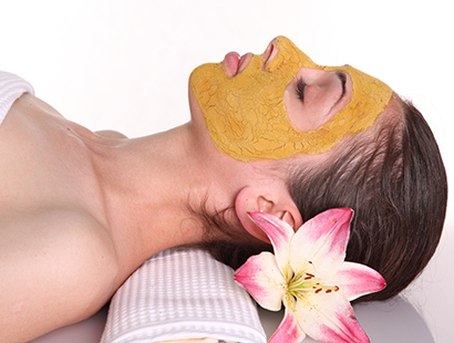 turmeric masks done at the brow boutique Portland, Lake Oswego