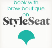 book online brow boutique on styleseat
