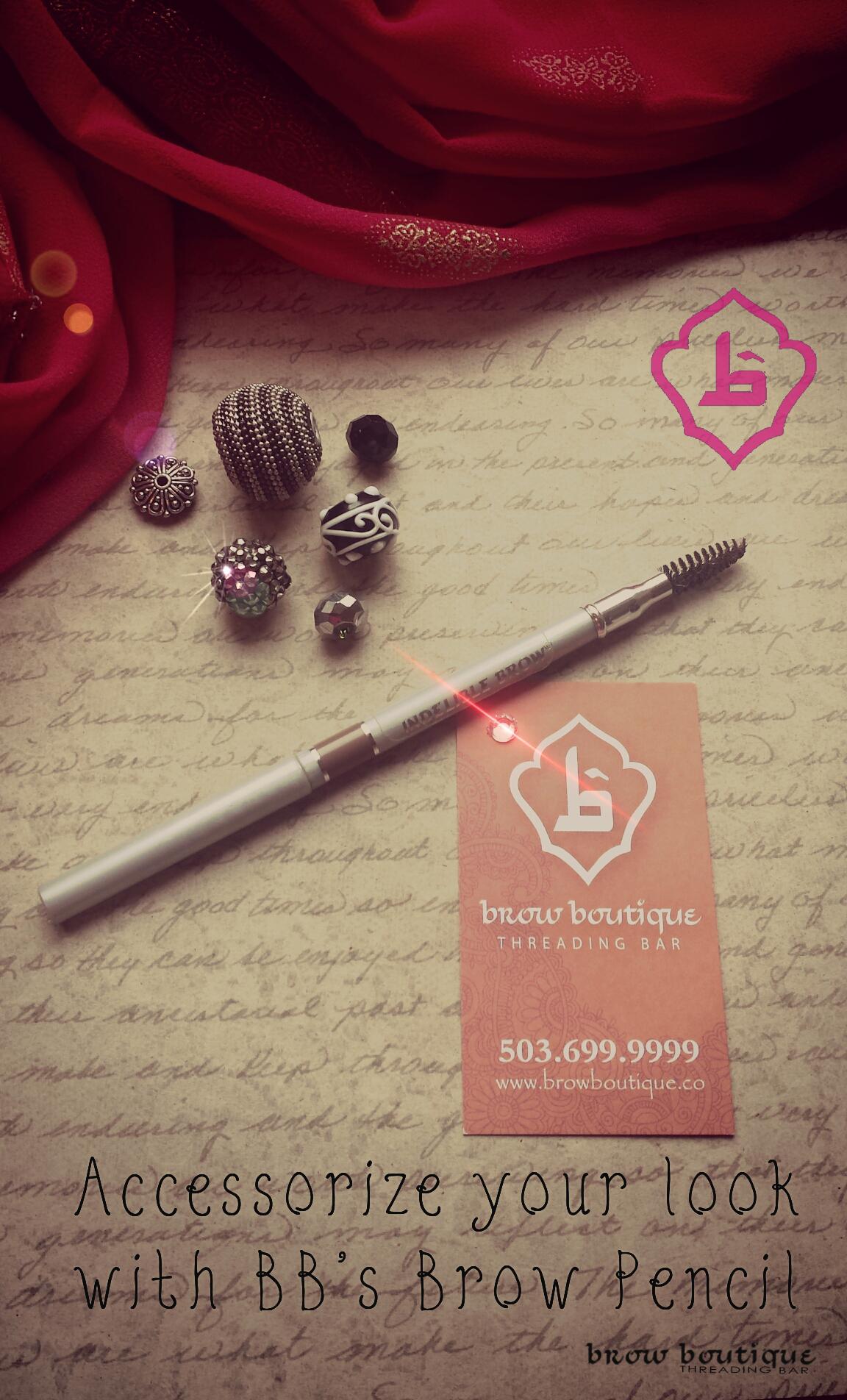 Brow Boutique Threading Bar PDX brow pencil