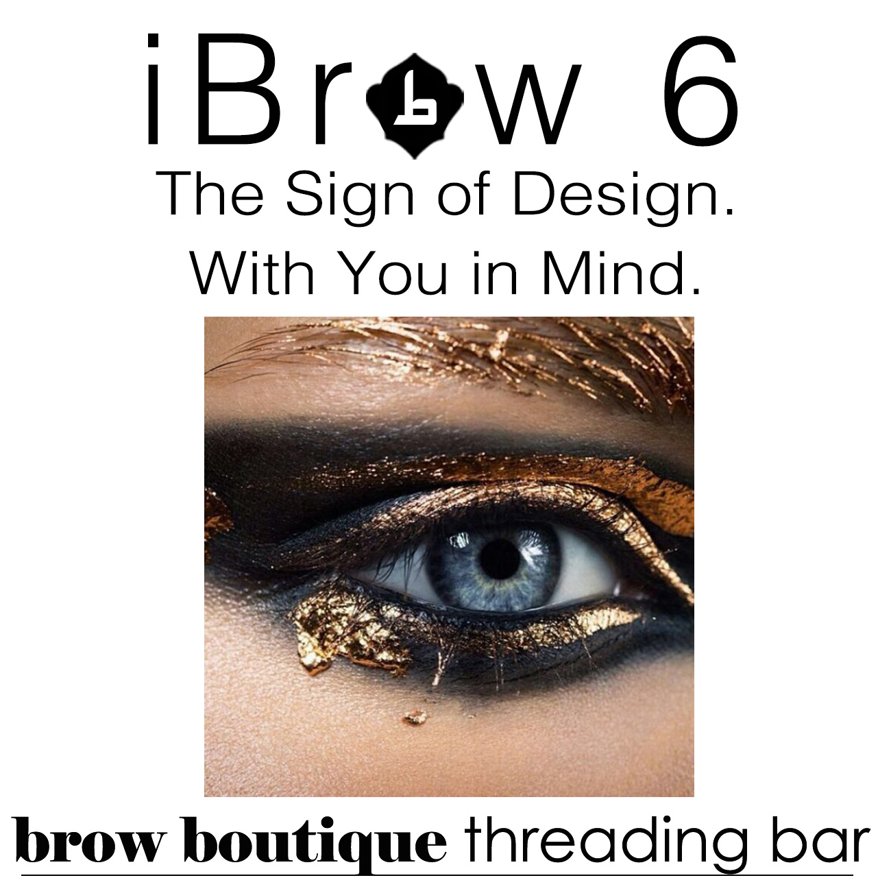 iBrow 6 brow boutique threading bar