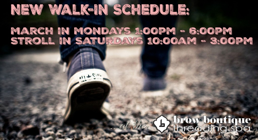 walkinschedule