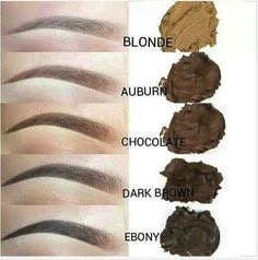 eyebrow colors Brow Boutique